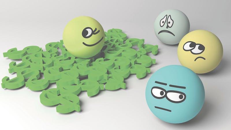 Grønn av misunnelse