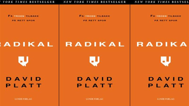David Platt – Radikal
