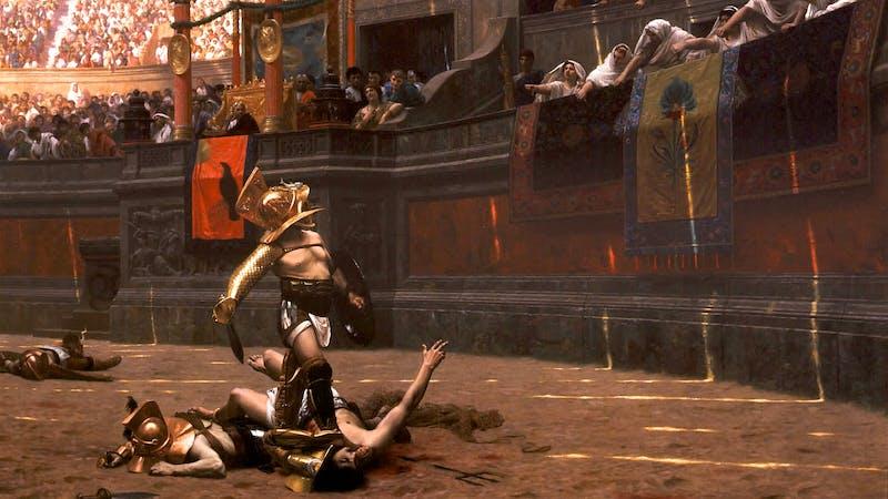 Den lille munken som stoppet gladiatorkampene