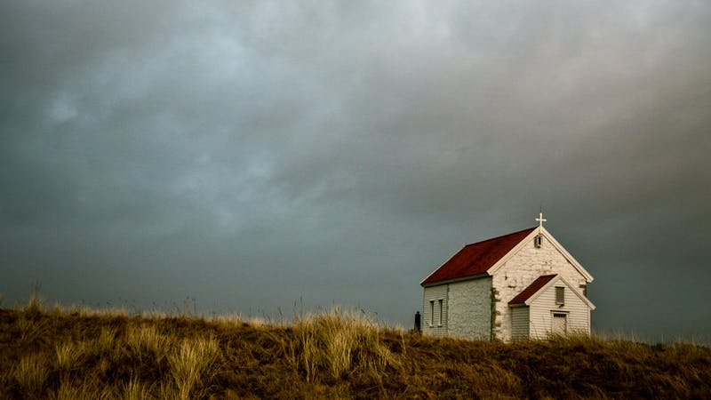 Kirken i storm