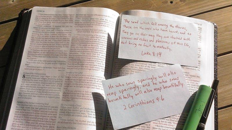 En sommer på hell – med en åpen Bibel