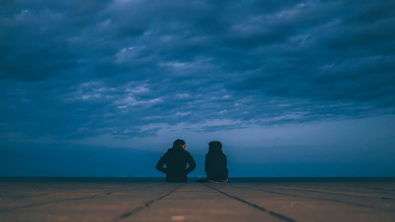En prat med Jesus om natten