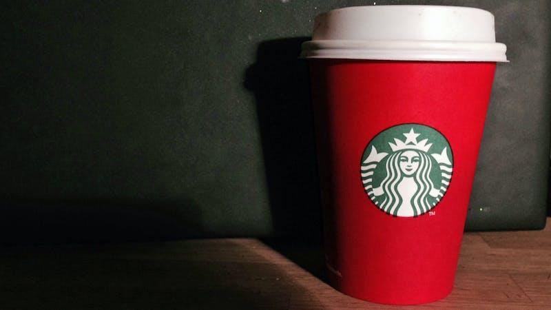 Drit nå i hvordan julekoppene til Starbucks ser ut!