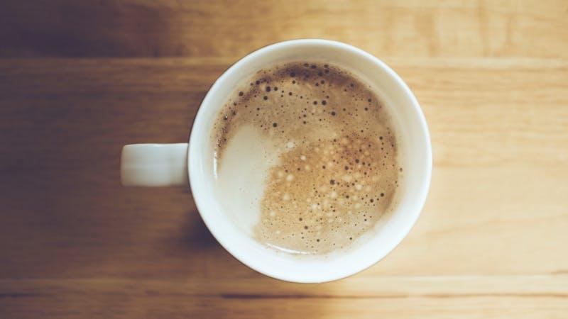 En kaffe?