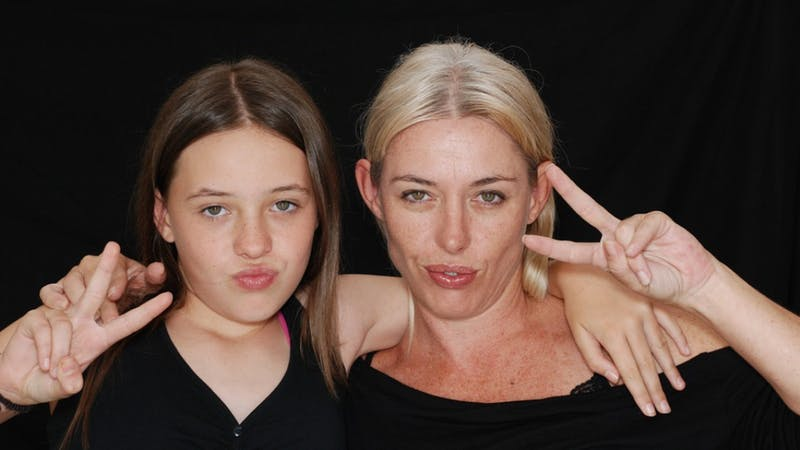 – Jeg og mamma er bestevenner
