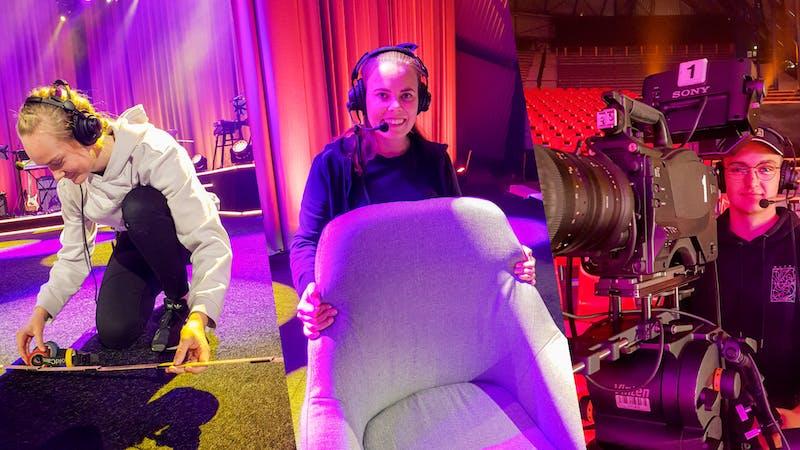Hva er lyd, lys og bilde-Crewets forventninger til UL Online?
