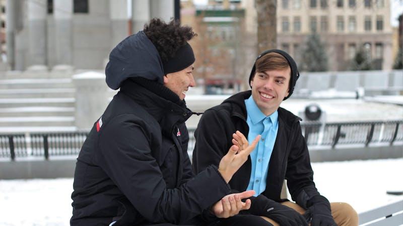 Mange av oss gutta kan ha vanskelig for å snakke med andre gutter om hvordan vi egentlig har det