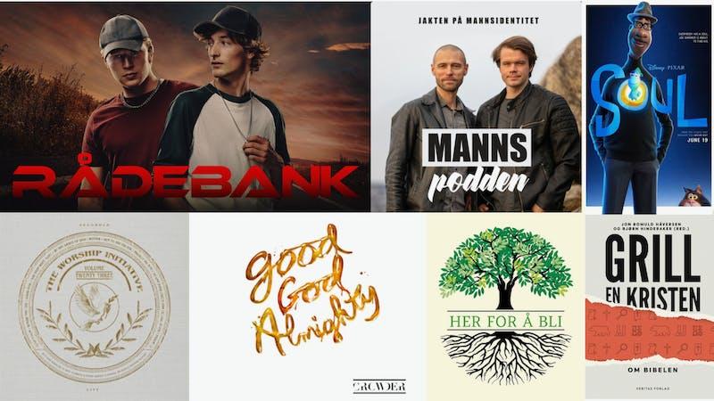 Den beste ungdomsserien på mange år, MANNSpodden, trosforsvar på lydbok og masse ny kristen musikk