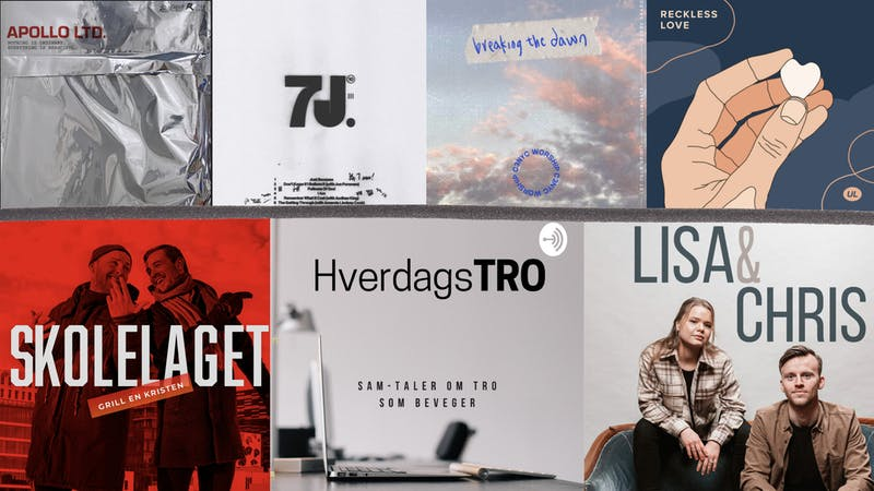 Ny kristen musikk, Laget-podcast, kristen-influenser-kåring og et gratis tips til Vårt Lands nye tv-kanal