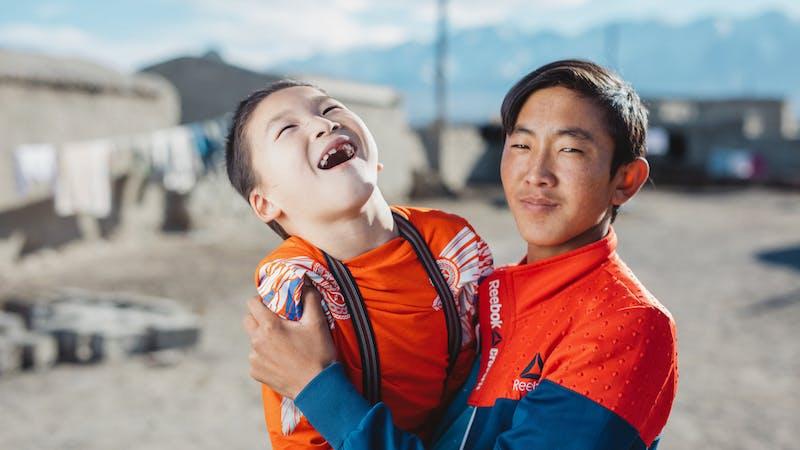 Hjelper barn med funksjonsnedsettelser i Mongolia
