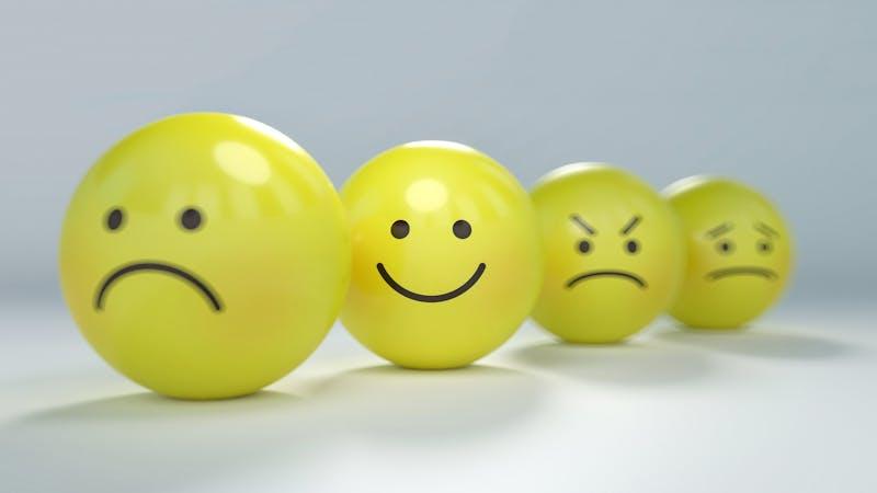 Livet går opp og ned og inneholder både gode og vonde dager og følelser